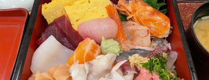 Tsukiji Sushi Sai is one of Tokio + Kioto 2017.