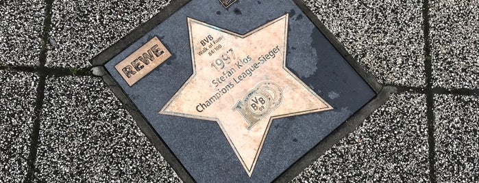BVB Walk of Fame #84 1997 Stefan Klos Champions League-Sieger is one of BVB Walk of Fame.