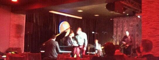 New Centropezn Jazz Club is one of Locais curtidos por Natalie.
