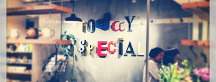 TODAY'S SPECIAL is one of Tokyo.