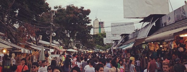 Chatuchak Weekend Market is one of Bangkok.