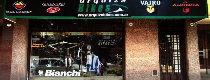 Urquiza Bikes is one of Bicicleterías de Buenos Aires.