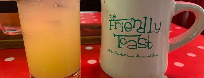 Friendly Toast is one of Burlington.