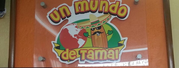 Un Mundo De Tamal is one of Yaz 님이 저장한 장소.