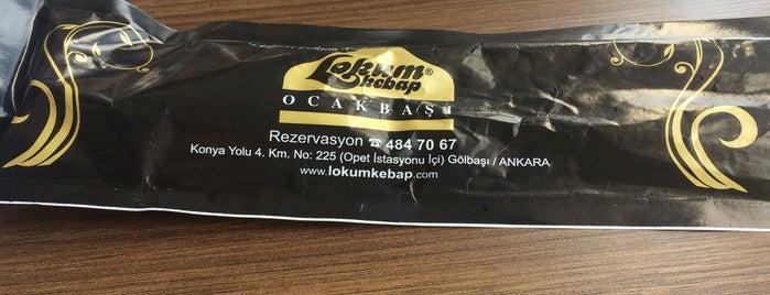 Lokum Kebap Ocakbaşı is one of Kebapçılar.