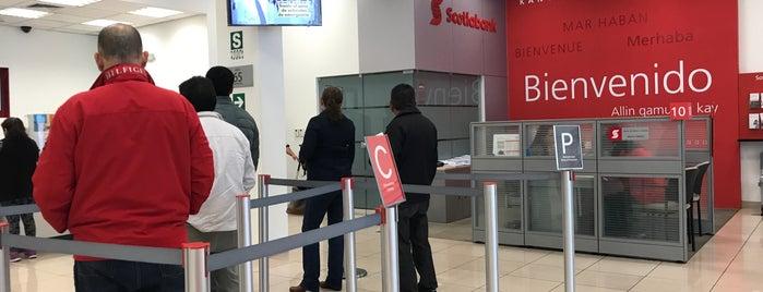 Scotiabank La Planicie is one of Lugares visitados.