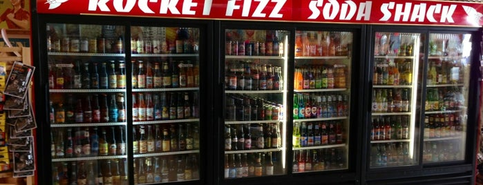 Rocket Fizz is one of David & Dana's LA BAR & EATS!.