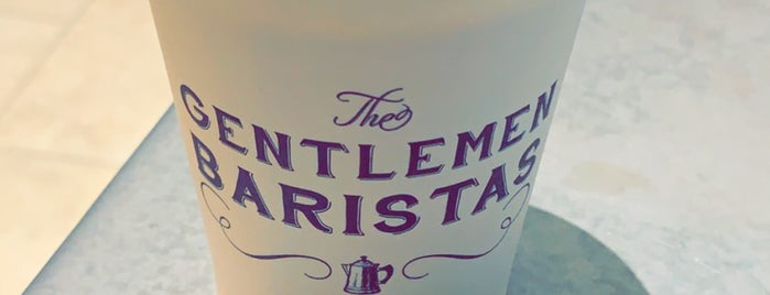 The Gentlemen Baristas is one of London coffeeshops & deserts 🇬🇧.
