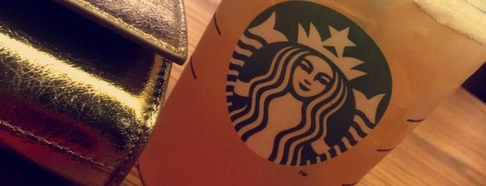 Starbucks is one of London coffeeshops & deserts 🇬🇧.
