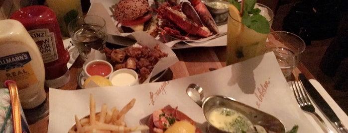 Burger & Lobster is one of London Restaurants 🇬🇧.