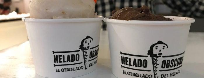 Helado Obscuro is one of María Paz : понравившиеся места.