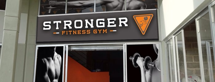 STRONGER Fitness Gym is one of Marteeno 님이 좋아한 장소.