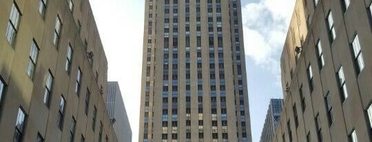 ロックフェラーセンター is one of Nueva York.