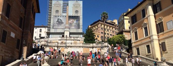 Piazza di Spagna is one of Locais curtidos por Kaniye.