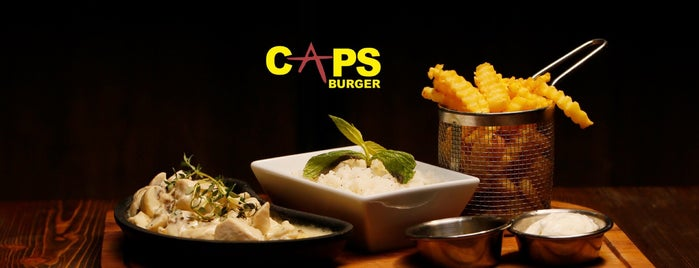 Caps Burger&Cafe is one of Mersin.