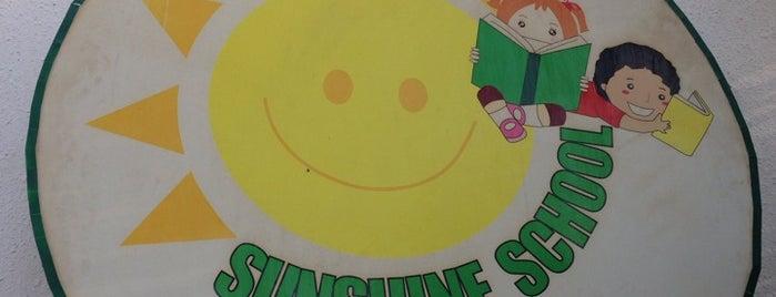 Sun Shine School is one of رند : понравившиеся места.