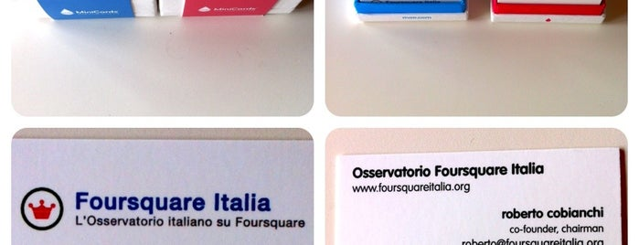Osservatorio Foursquare Italia HQ is one of Eventi & Venues Foursquare In Italia.