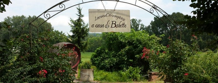 Locanda Champagnerie a casa di Babette is one of Asti.
