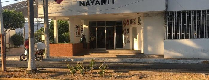 PRI Estatal Nayarit is one of Locais curtidos por J. Alberto.