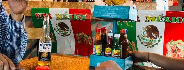 El Cachanilla Tacos & Beer is one of สถานที่ที่ Sergio M. 🇲🇽🇧🇷🇱🇷 ถูกใจ.