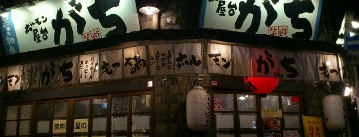 ホルモン屋台 がち is one of Lugares favoritos de fantasista_7.