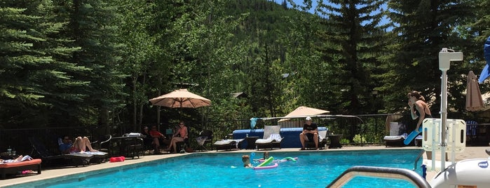 Marriott Streamside At Vail Pool is one of Dining Vail.