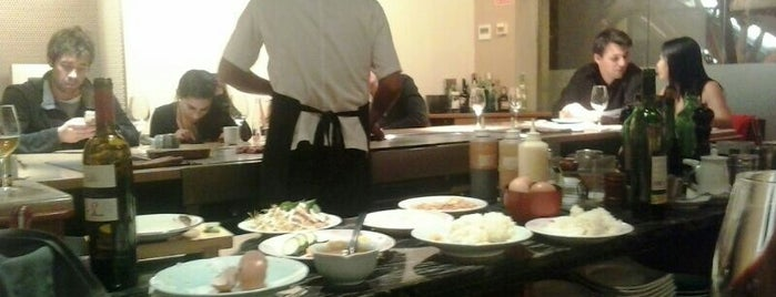 Teppan-Yaki is one of Try on weekends.