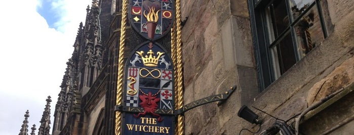 The Witchery by the Castle is one of The Dog's Bollocks' Auld Reekie (Edinburgh).