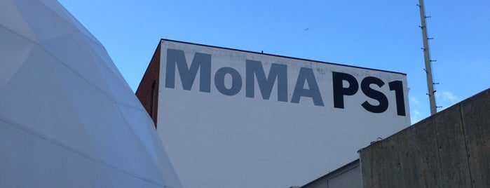 MoMA PS1 Contemporary Art Center is one of 100 Museums to Visit Before You Die.