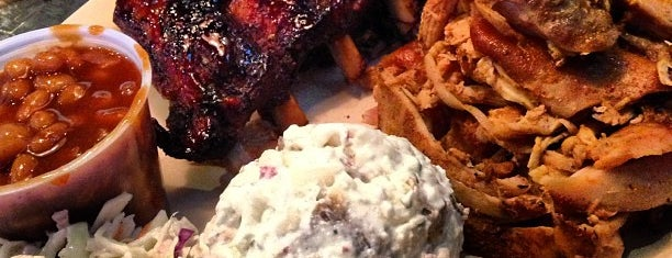 Whole Hog Cafe is one of Meats: BBQ, Steak & Seafood.