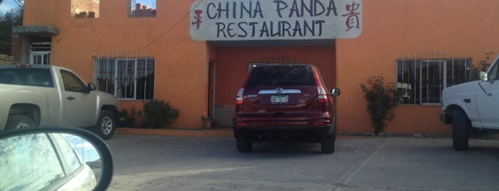 China Panda is one of Jorge'nin Kaydettiği Mekanlar.
