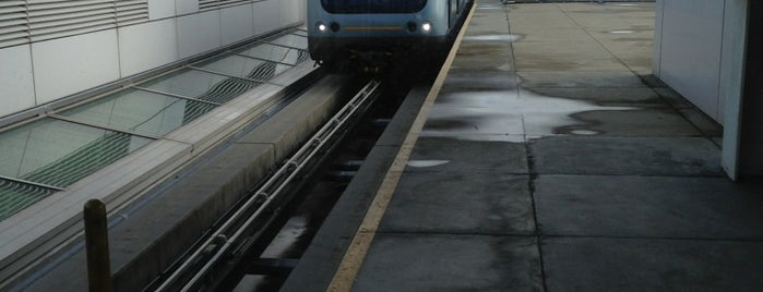 SFO AirTrain is one of San Francisco!.