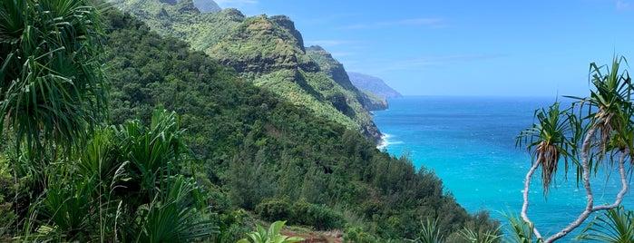 Napali Coast is one of Hawai'i.