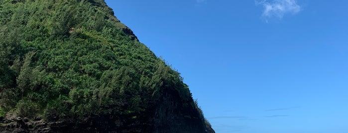 Hanakapi`ai Beach is one of Kauai.