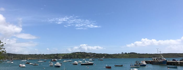 Schull Pier is one of Cork.