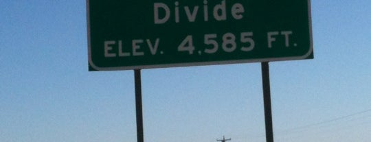 Continental Divide is one of Holiday Bowl Road Trip.