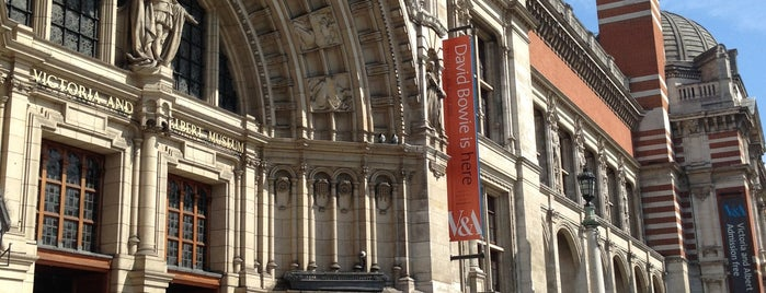 Victoria and Albert Museum (V&A) is one of London To-Do.