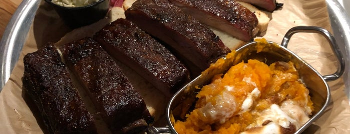 Corner House BBQ is one of The 20 Best BBQ Joints in NYC.