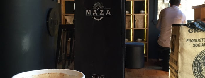MAZA Espresso Bar is one of to eat.