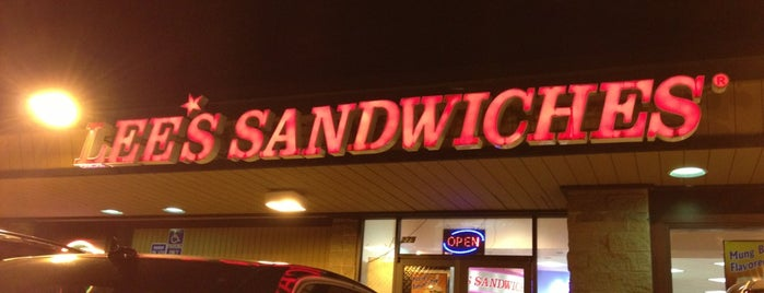 Lee's Sandwiches is one of Foodie Finds.