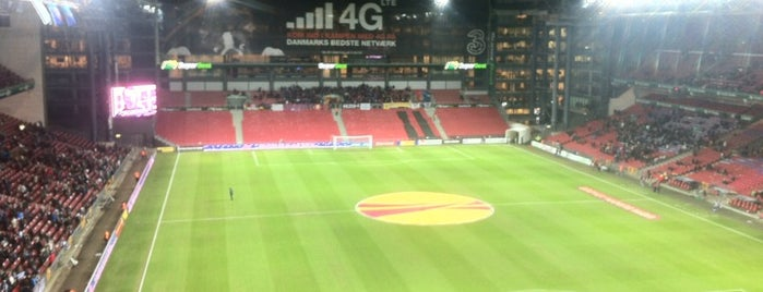 Telia Parken is one of Soccer Stadiums.