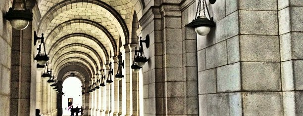 Union Station is one of Washington Dc.