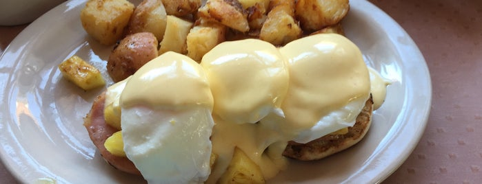 Katy's Place is one of America's 50 Best Eggs Benedict Dishes.