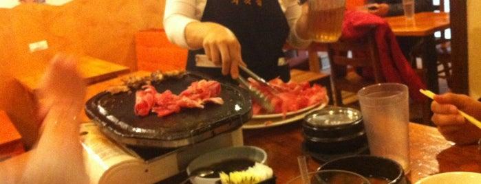 Oegadjib Korean Restaurant is one of DC to do list.