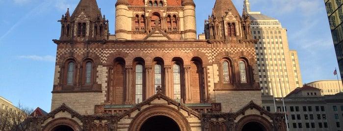 Trinity Church is one of Boston.