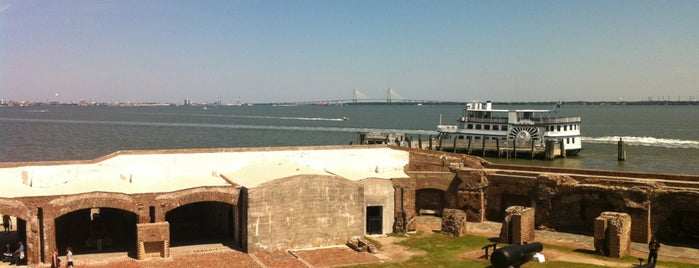 Fort Sumter National Monument Visitor Center is one of Charleston.
