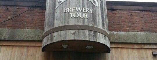 Samuel Adams Brewery is one of Top Craft Beer Bars: Boston Edition.