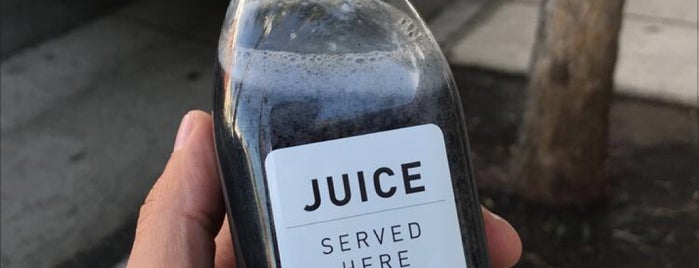 Juice Served Here is one of Los Angeles.