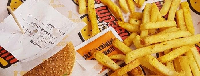 Burger Yiyelim is one of Güçlüさんのお気に入りスポット.