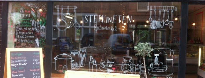 sterk in eten is one of My favorites in Amsterdam.